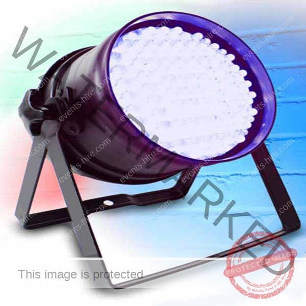 LED uplighter hire, stage LED uplighter